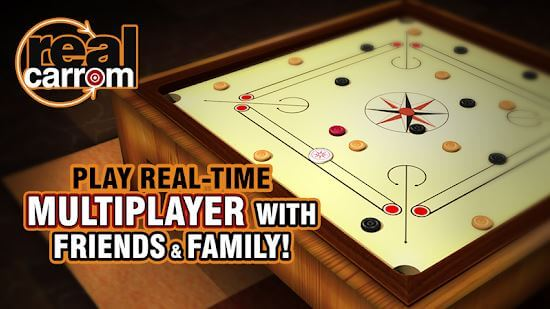 Real Carrom 3D Multiplayer Game
