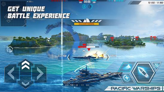 Pacific Warships Online 3D War Shooter