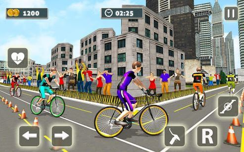Bicycle Rider Racer