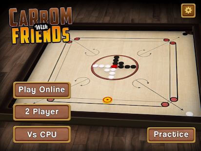 Carrom Multiplayer 3D Carrom Board Game