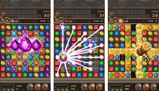Jewel Template Quest Match 3