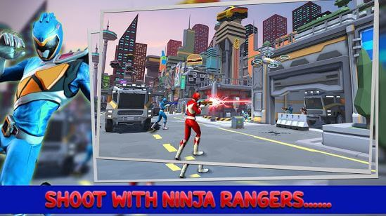 Power Ninja - Rangers Strike Shoot