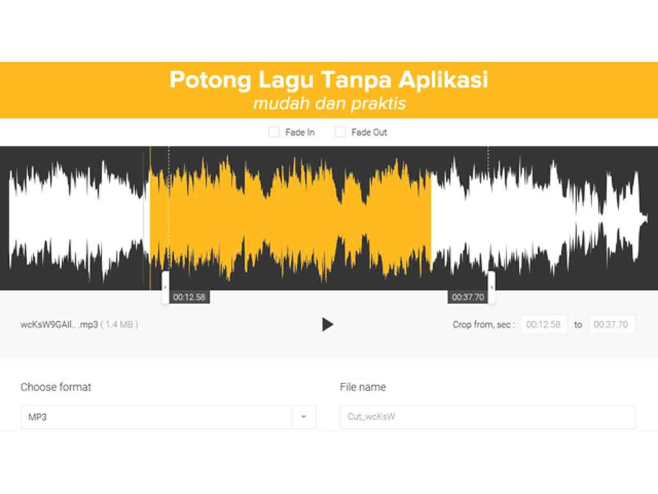 2 Cara Memotong Lagu Mp3 Tanpa Aplikasi Di Android Dan Pc