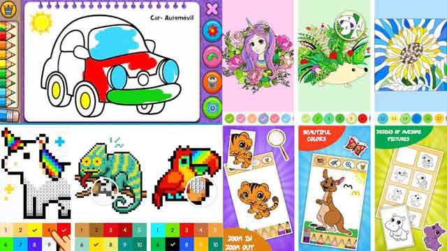 game mewarnai gambar