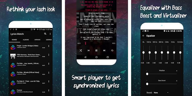 Lyrics Match Music Player
