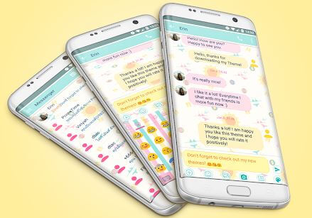 SMS Messages Summer Theme