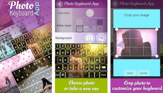 Photo Keyboard App