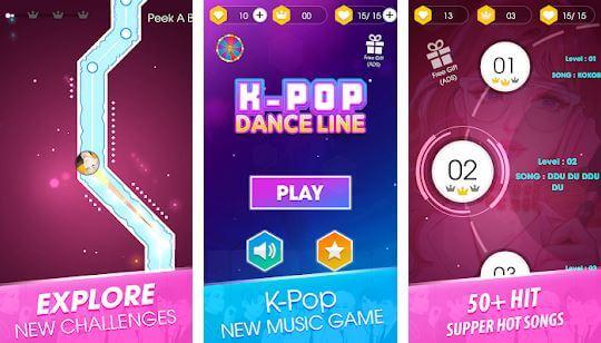 Kpop Dance Line