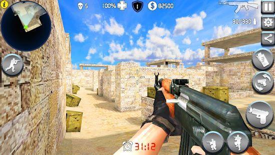 Pixel Gun Killer War Shot