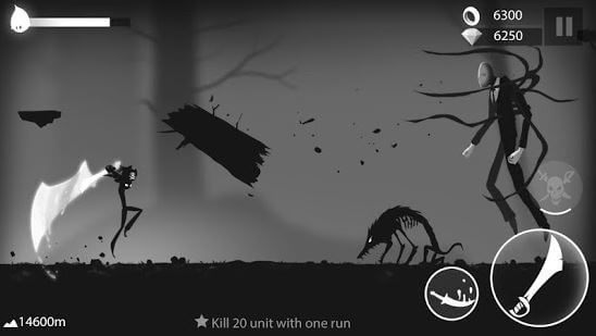 Stickman Run Shadow Adventure