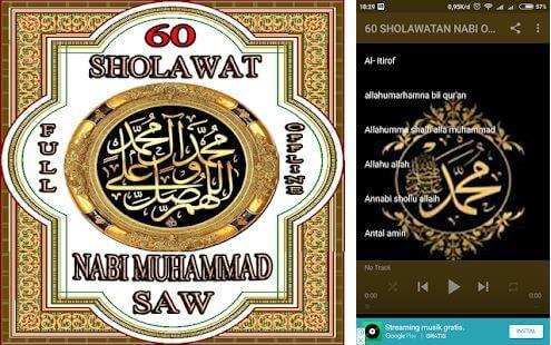 60 Sholawat Full Offline