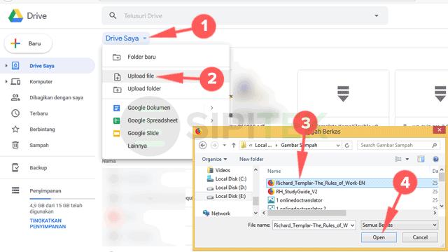 Cara Translate PDF menggunakan Google Docs