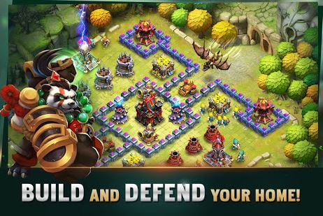 Clash of Lords 2 Guild Castle