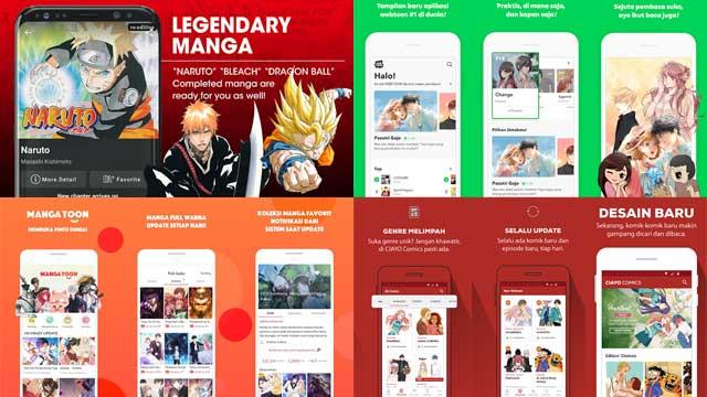 Aplikasi Baca Komik Offline