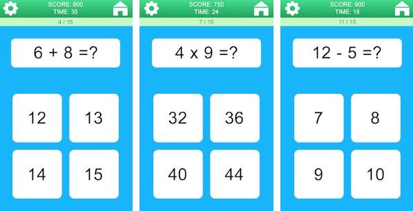Math games (Ocosys)