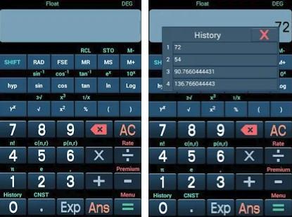 Kalkulator Ilmiah Lengkap