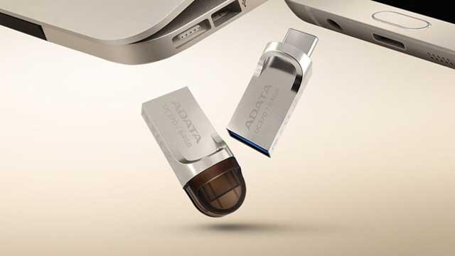 Adata UC370 USB C OTG Flash Drive