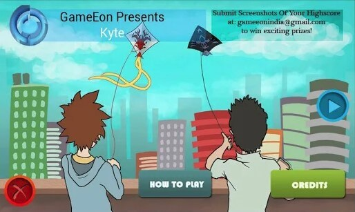 Kyte Kite Flying Battle Game
