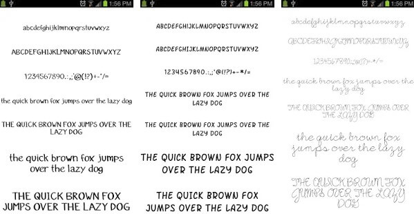 Fonts for Galaxy FlipFont Free