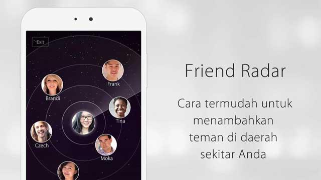Aplikasi cari teman sekitar