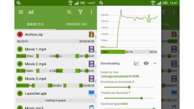 aplikasi download manager android