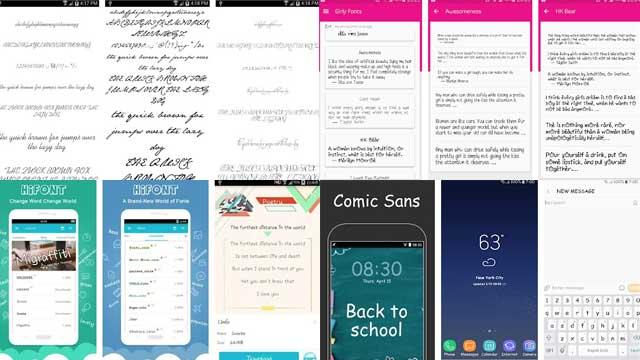 aplikasi huruf keren Android