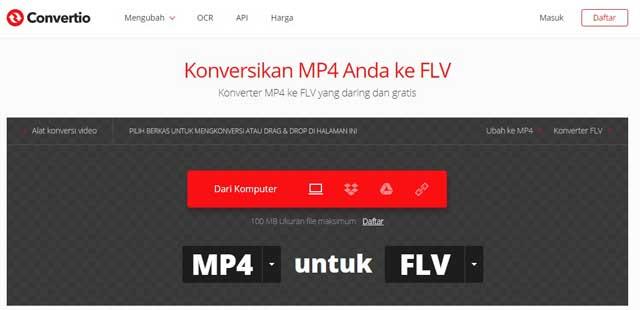 Cara Mengubah Format Video MP4 ke FLV