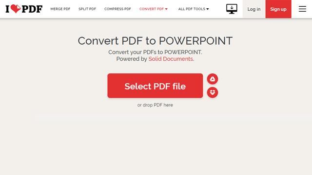 Cara Convert PDF ke PowerPoint melalui iLovePDF