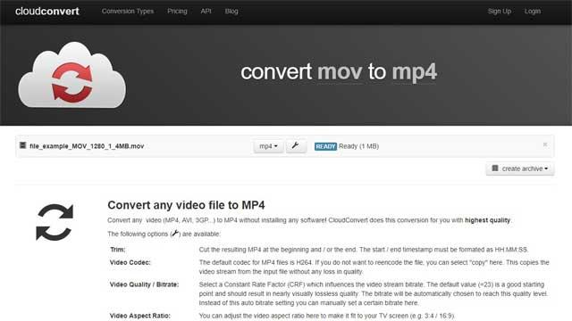 Cara Mengubah Format Video MOV ke MP4