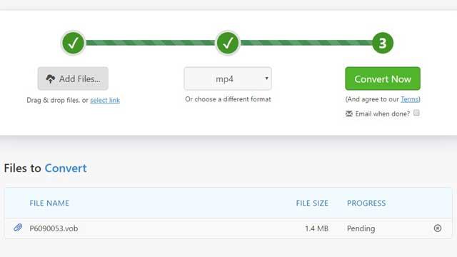 Cara Mengubah Format Video VOB ke MP4
