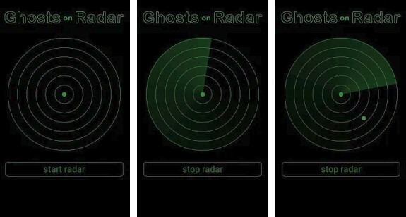 Ghosts on Radar Simulation