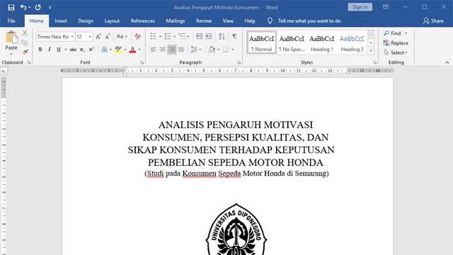 Cara Mengubah File PDF ke Word secara Offline