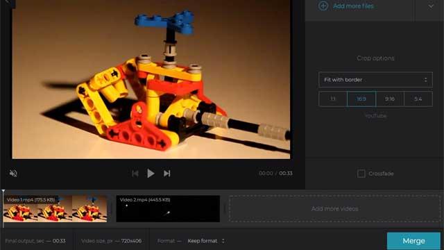 Cara Menggabungkan Video melalui Situs Clideo