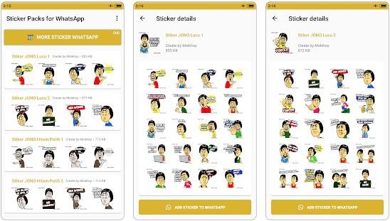 15 Aplikasi Stiker Whatsapp Lucu Terbaik Di Android