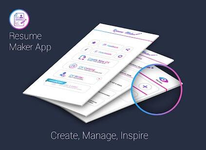 Free Resume Maker CV Maker