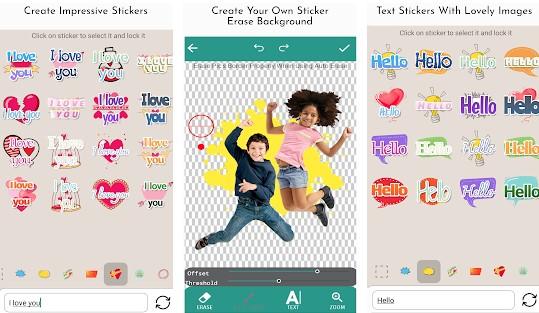 Magic Sticker Maker For WhatsApp