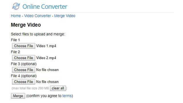Cara Menggabungkan Video Tanpa Aplikasi melalui Online Converter