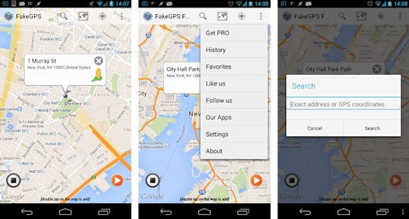 Fake GPS GO Location Spoofer Free