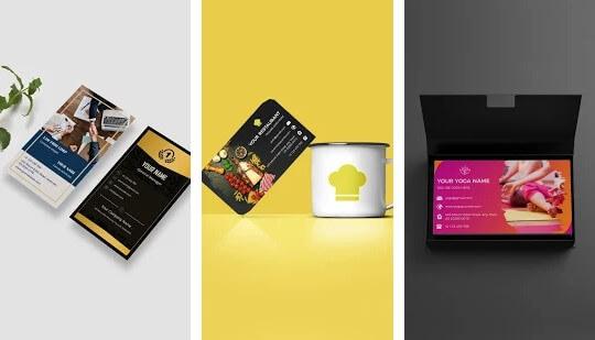 Business Card Maker Branding Template Editor