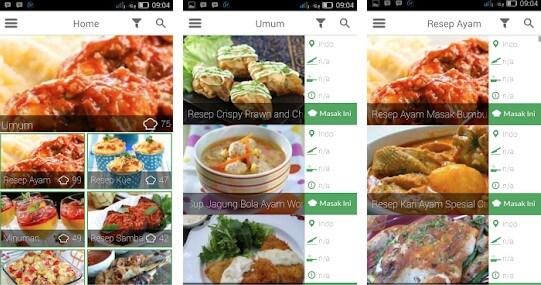 Jutaan Resep Masakan Indonesia