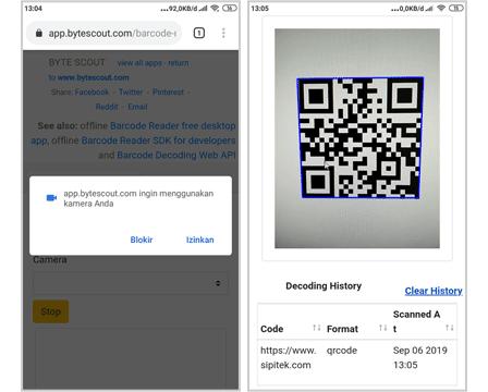 Cara Scan Barcode Tanpa Aplikasi
