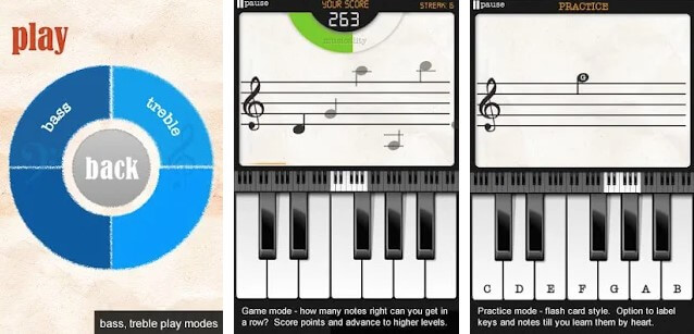 Note Trainer Lite Learn Piano