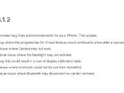 Perbaikan iOS 13.1.2