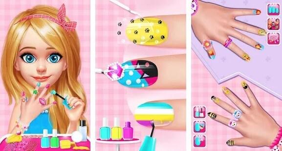 Nail Salon Girls Nail Design